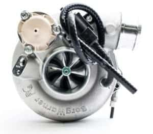 This is a BorgWarner EFR 7163 Turbocharger