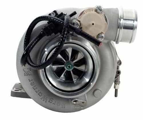 This is a BorgWarner EFR 8374 Turbocharger