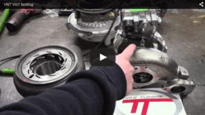 VNT VGT Turbo Testing