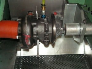 VSR turbocharger balancer