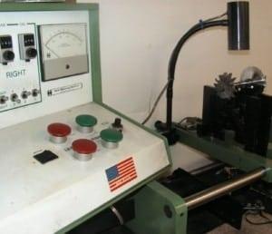turbo component balancer machine