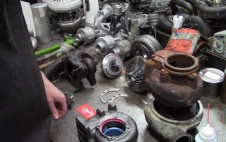 How to Disassemble a Rusty Turbocharger (Featured)