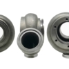 """This is a V Band Inlet 3"""" V Band Outlet Turbine Housing set"""